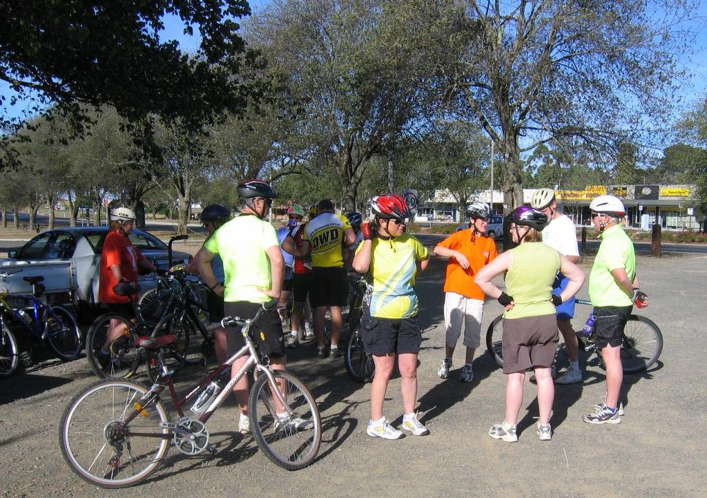 This was MBUG's first organised ride - many since then